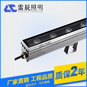 led洗墙灯采用蜂窝结构设计和上下通孔的散热结构